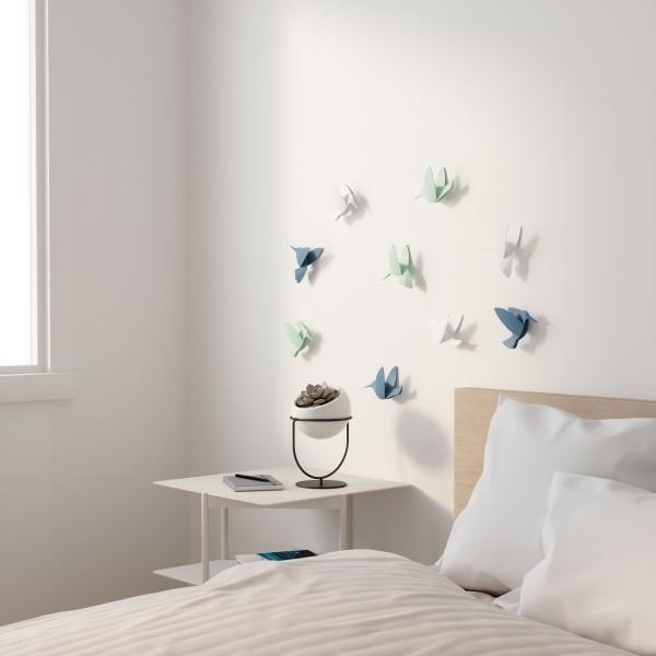 UMBRA dekoracja ścienna HUMMINGBIRD -mix