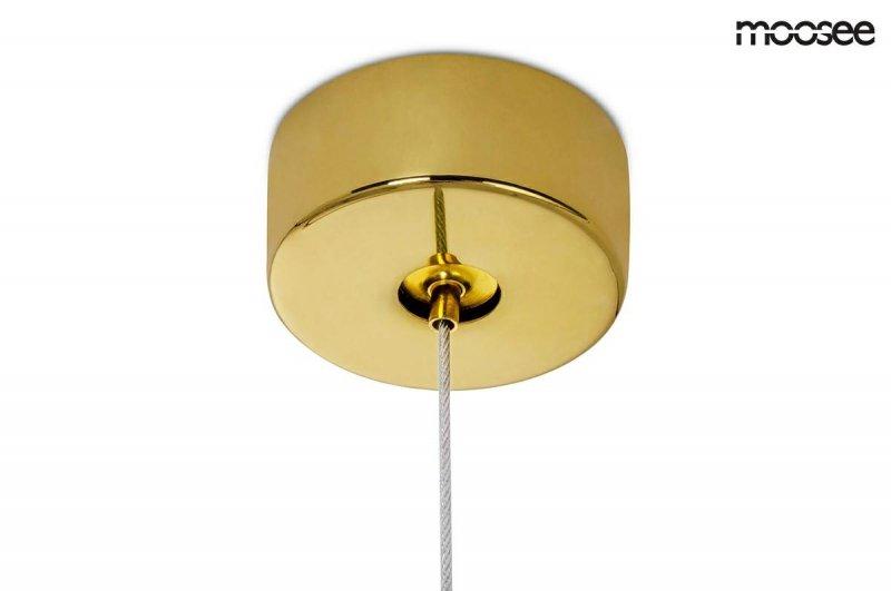 MOOSEE lampa wisząca RING LUXURY 70  złota - LED, chromowane złoto