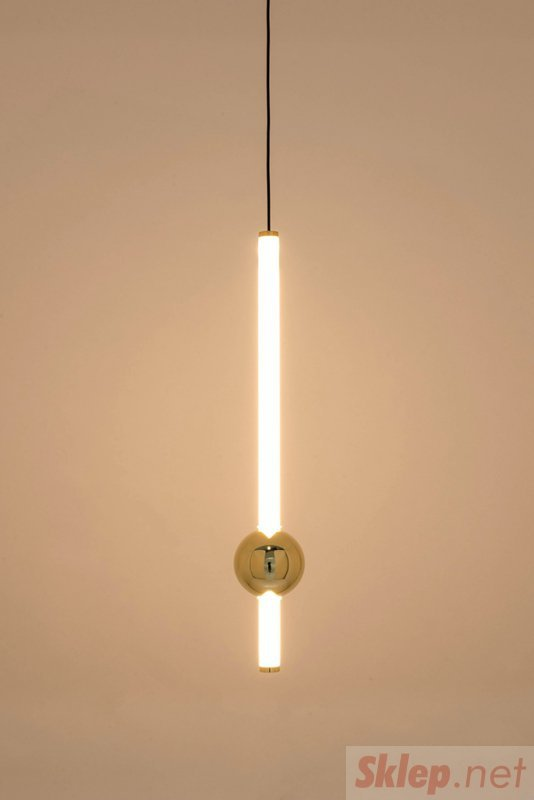 Lampa wisząca LIBRA 60 IN biało - złota