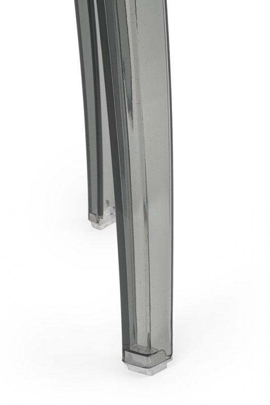 Stołek CHARLES 46 dymiony - poliwęglan