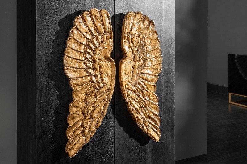 INVICTA kredens wysoki ANGEL 70 MANGO - lite drewno, metal