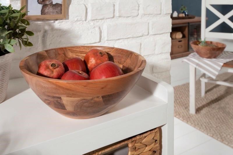 INVICTA komplet dwóch mis ELEMENTS 30 cm - drewno akacja