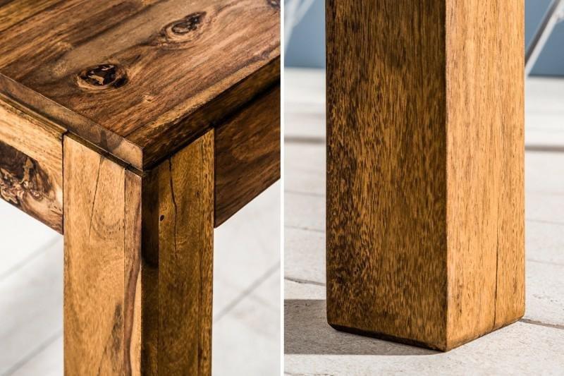 INVICTA stół rozkładany LAGOS 160-240 sheesham - lite drewno palisander