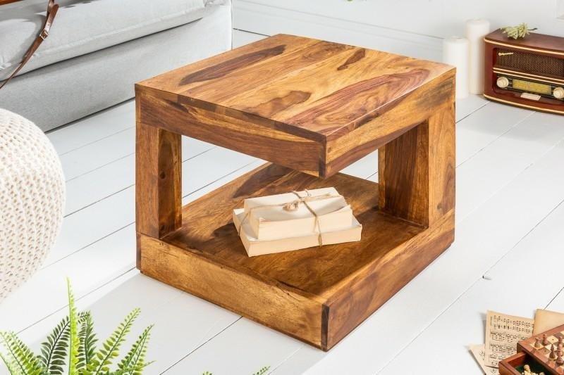 INVICTA stolik GIANT S 45 cm sheesham - lite drewno palisander