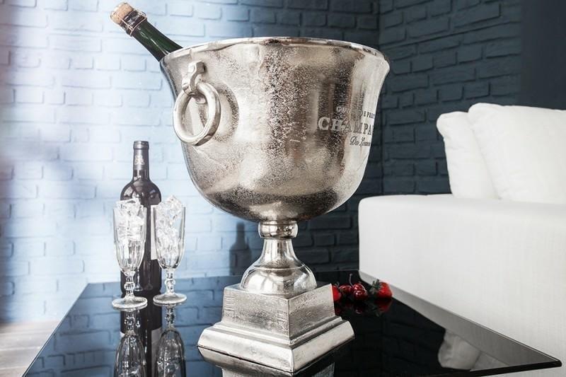 INVICTA CHAMPAGNE 40 cm chłodziarka do szampana - aluminium