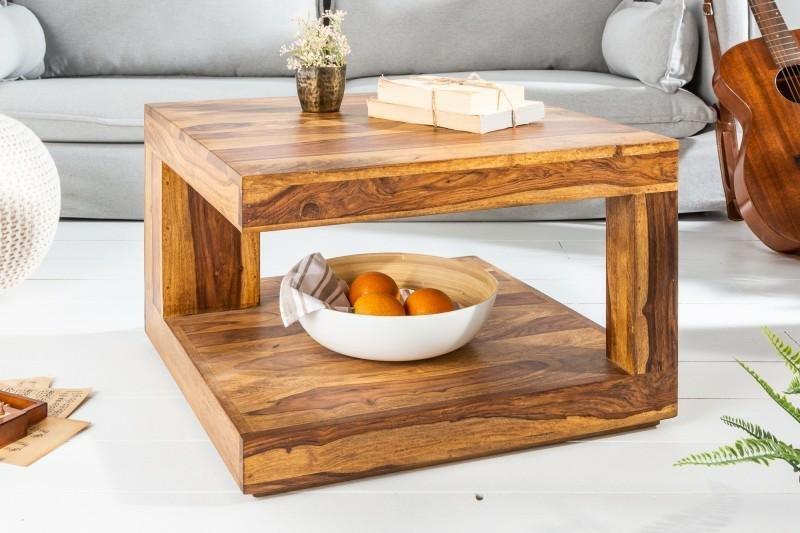 INVICTA stolik GIANT M 60 cm sheesham - lite drewno palisander