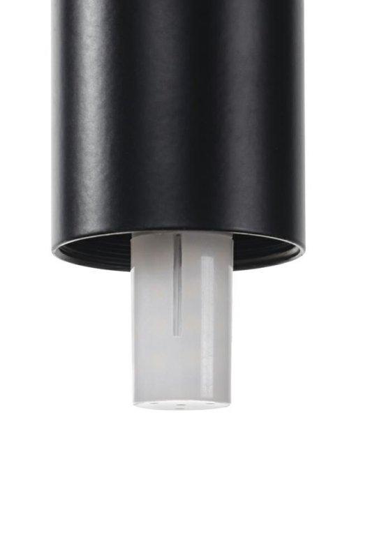 Lampa ścienna FLUSSO WALL 3 czarna