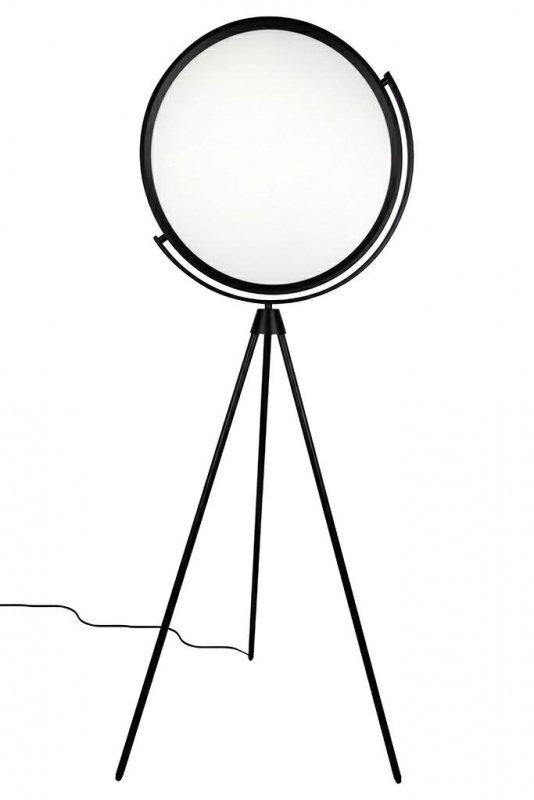Lampa podłogowa MOON FLOOR - metal, akryl