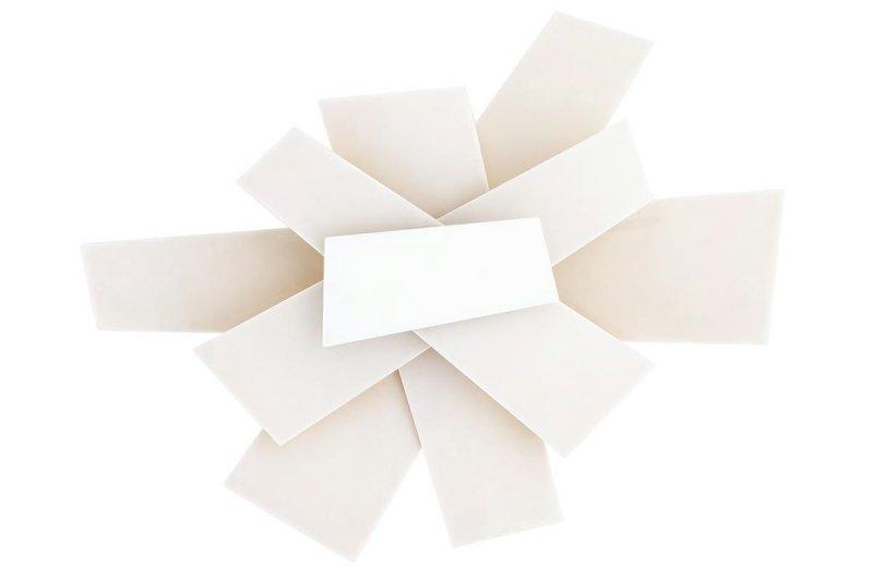 Kinkiet BANG BANG biały - akryl, aluminium, stal