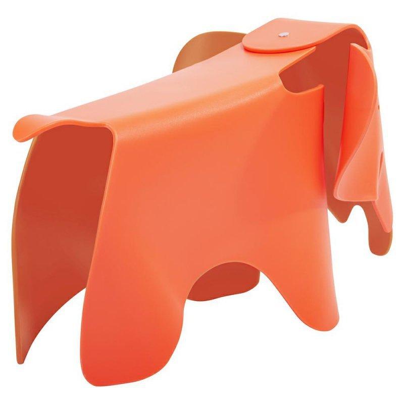 Stołek SŁONIK pomarańczowy - polipropylen