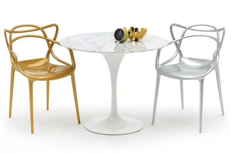 Krzesło LUXO złote - ABS