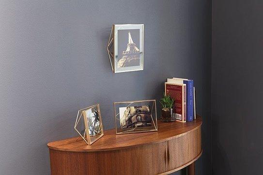 UMBRA ramka na zdjęcia PRISMA 10x10 cm - złota