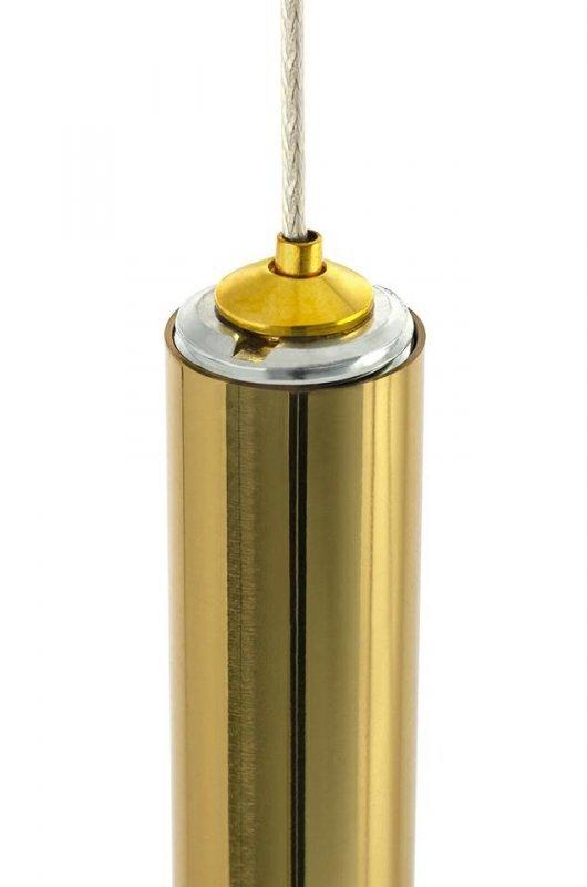 Lampa wisząca ORGANO 120 złota - LED, metal