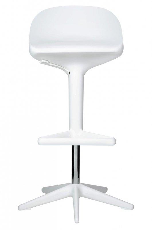 Hoker BENT biały - z regulacją wysokości, polipropylen