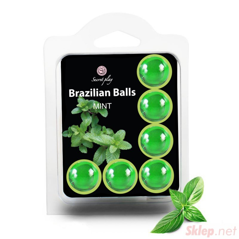 SET 6 BRAZILIAN BALLS MINT