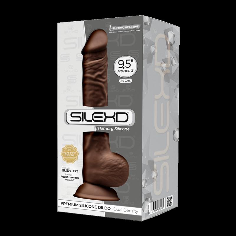 "Dildo-SD.Model 3 (9.5"") BROWN BOX"