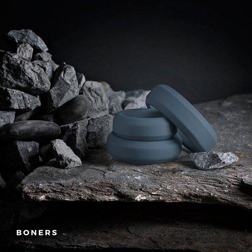 Boners 3 Ring kit (flat rings)