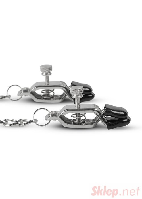 Stymulator-Big Nipple Clamps With Chain