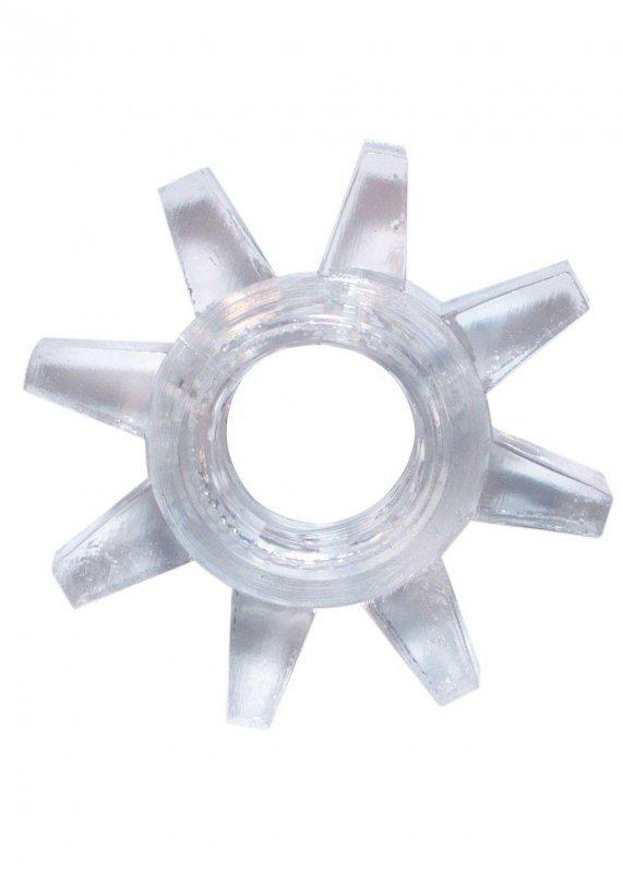 Pierścień-Cockring Rings Cogweel white