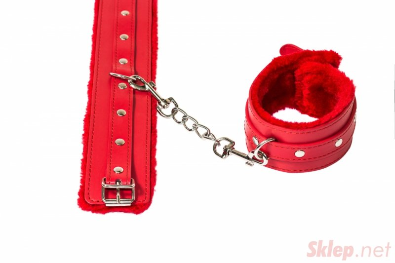 Ankle cuffs Party Hard Eternity Red