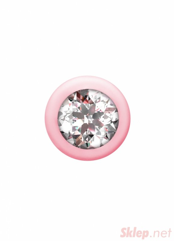 Anal bead with crystal Emotions Buddy Pink