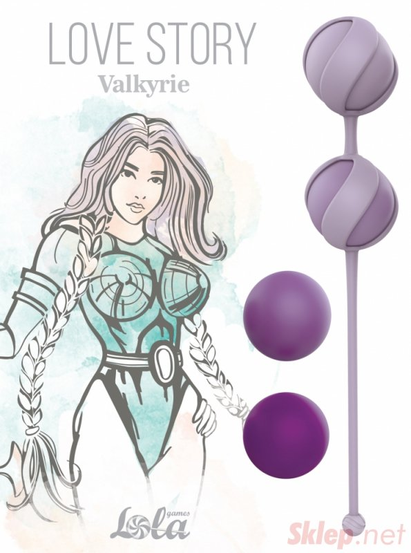 Replacement Vaginal Balls Set Love Story Valkyrie Purple