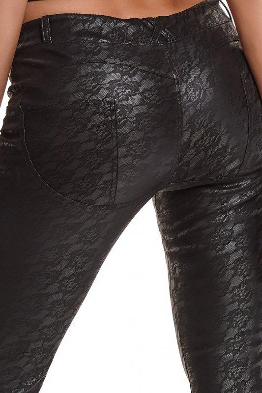 Bielizna - BRCONSTANZA001 leginsy czarne rozmiar XL