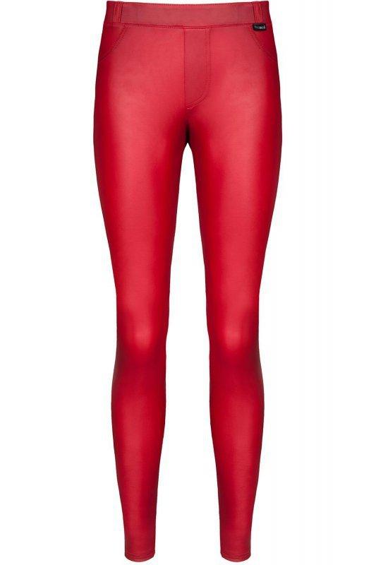 Bielizna - BRLIDIA001 legginsy czerwone rozmiar M