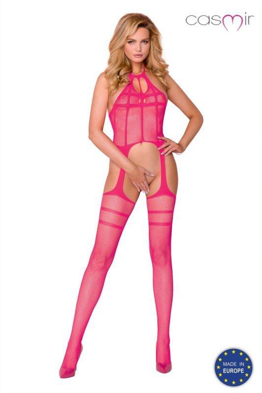 Bodystocking CA008 pink