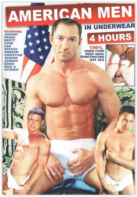 DVD-American Men Underwear