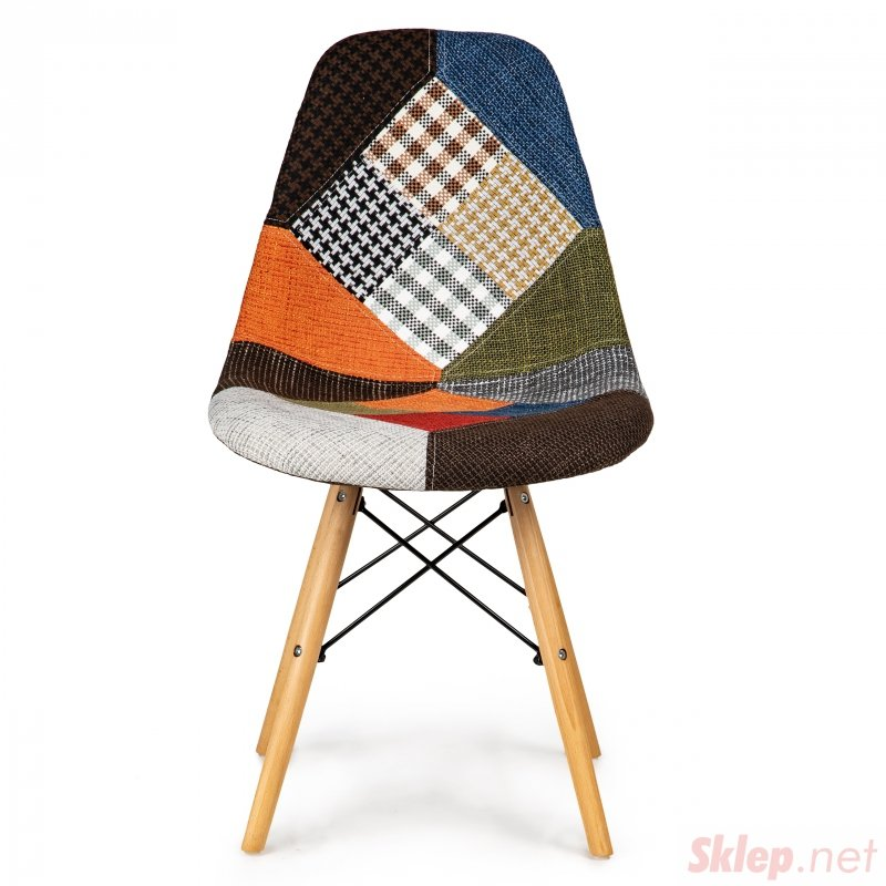 Komplet 2 krzeseł patchwork ModernHome
