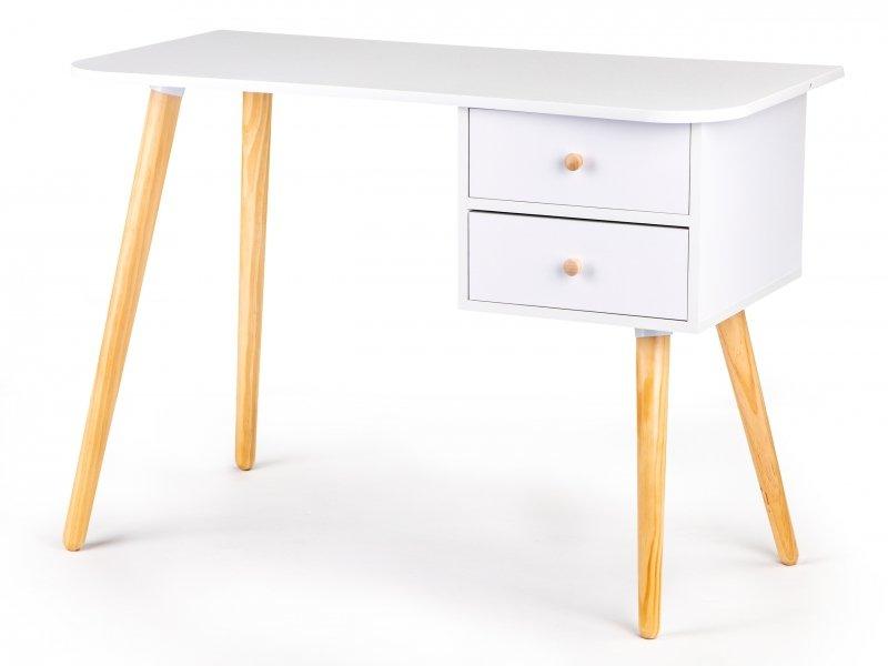 Nowoczesne biurko komputerowe stolik 2 szuflady MODERNHOME