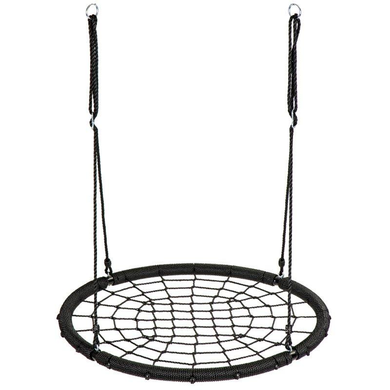 Huśtawka ogrodowa bocianie gniazdo pajęcza sieć 1m ECOTOYS
