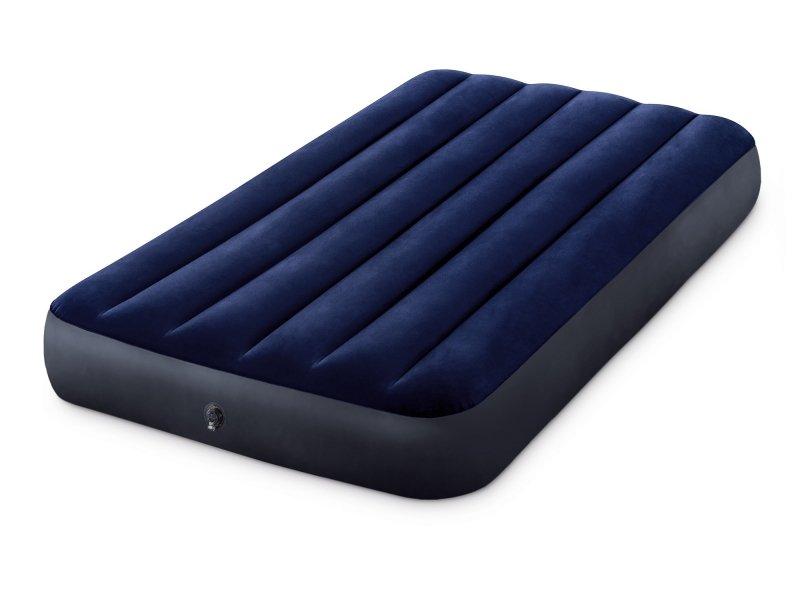 Materac dmuchany do spania łóżko 1 osobowe INTEX 64757