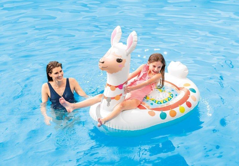 Dmuchana lama materac do pływania plażowy dla dzieci INTEX 57564