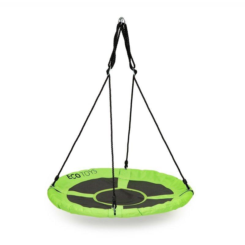 Huśtawka ogrodowa bocianie gniazdo 110 cm 150kg