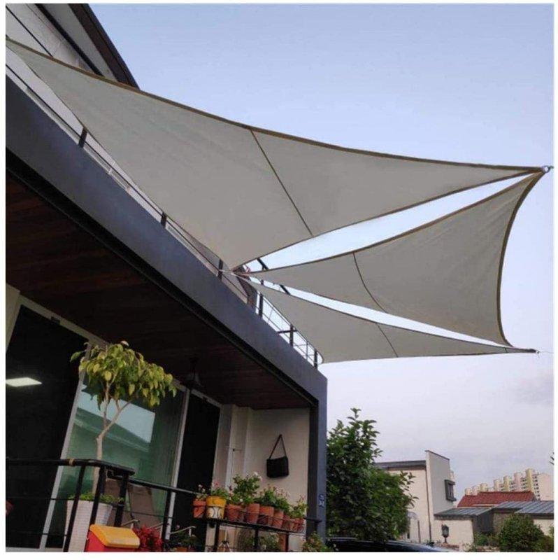 Żagiel przeciwsłoneczny daszek parasol 4x4x4m
