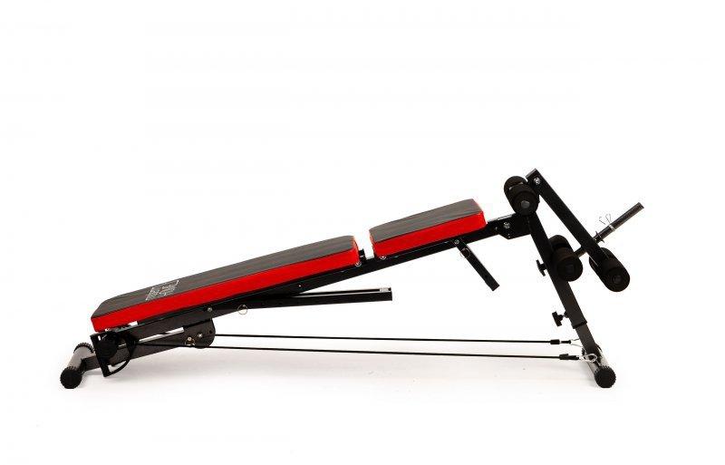 Ławeczka do ćwiczeń ławka treningowa ekspandery
