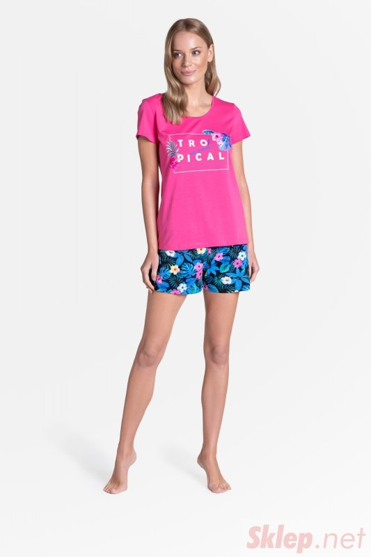 Piżama Tropicana 38905-43X Różowa
