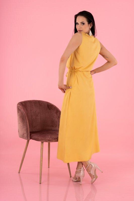 Sukienka Anara Mustard