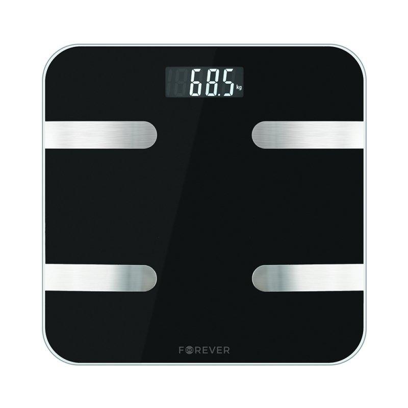 Forever waga analityczna Bluetooth AS-100 czarna