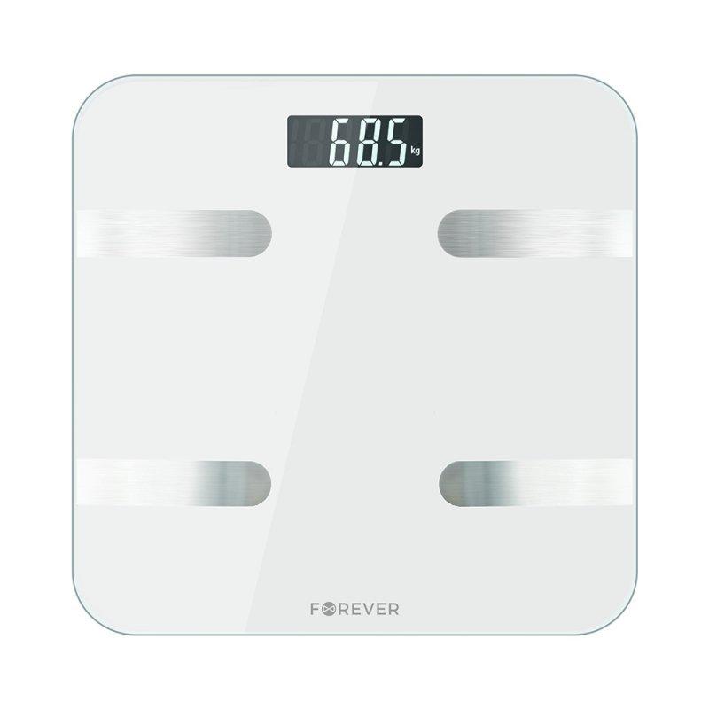 Forever waga analityczna Bluetooth AS-100 biała