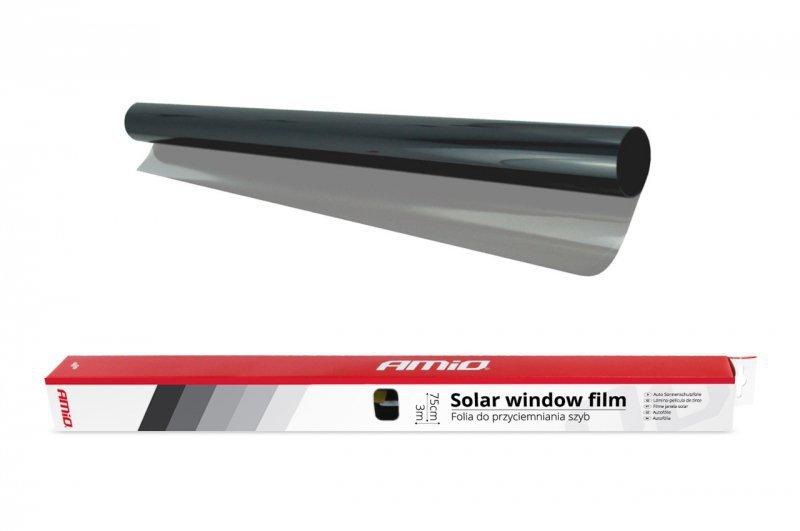 Folia do przyciemniania szyb light black 0,75x3m (60%)