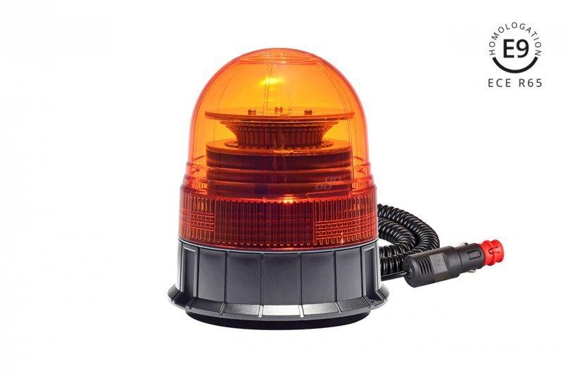 Lampa ostrzegawcza w02m magnetyczna r65 r10 39led 12/24v ip56
