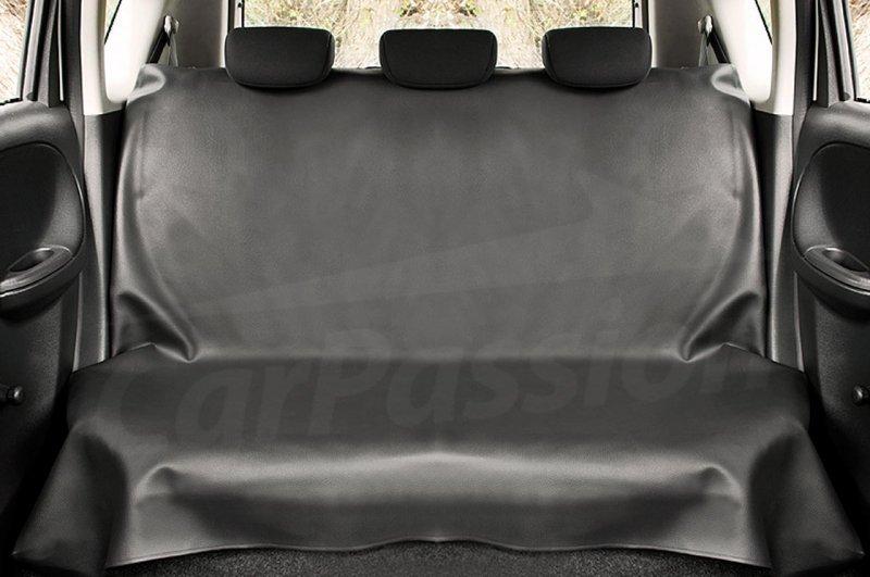 Pokrowiec ochronny na tylną kanapę z eko-skóry