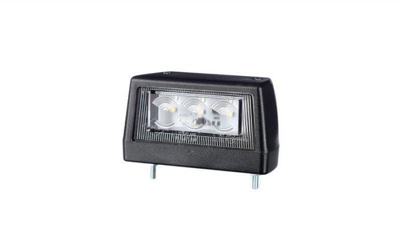 Lampa oświetlenia tablicy rejestracyjnej hor 79, diodowa 12/24v (przewód 0,5 m)