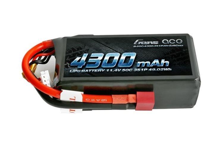 4300mAh 11.4V 50C Gens Ace
