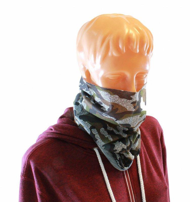 BQ34D Maska komin chusta bandana moro