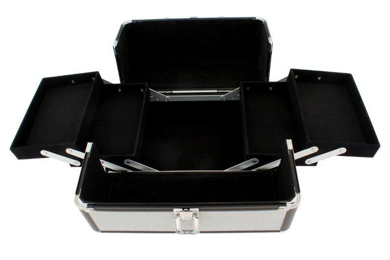 CA4T Kufer 25x17x17cm gray-black kosmety