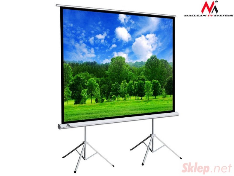 """MC-712 44023 Ekran projekcyjny na dwóch statywach 150"""" 4:3 300x225"""